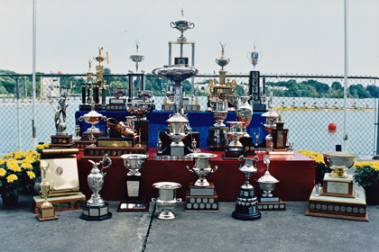 The Trophies of the Royal Canadian Henley Regatta